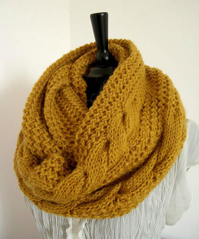 London Scarf Cowl Pattern