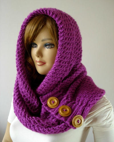 LouLou Kiss Hodded Cowl