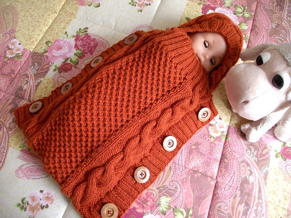Sweet Snuggle Baby Cocoon pdf pattern Instant Download