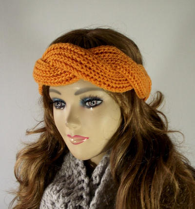 Twisted Headband Knit Hair Accessorie