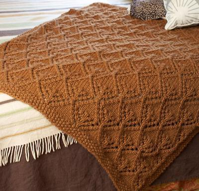 Autumn Lace Afghan Kit