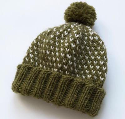Chance of Flurries Hat Kit