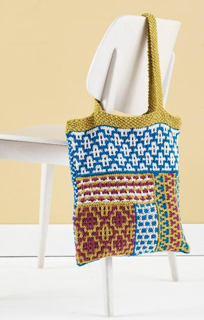 Kitchen Cotton Mosaic Tote