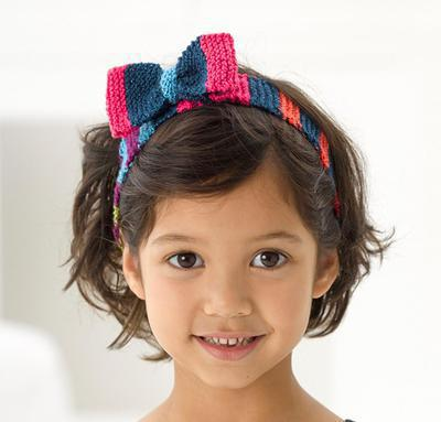 Knit Headwrap With Bow Kit