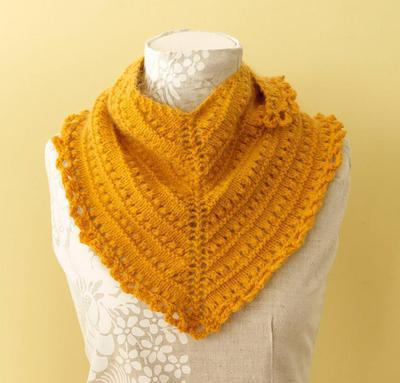 Sweet Peach Shawl Kit