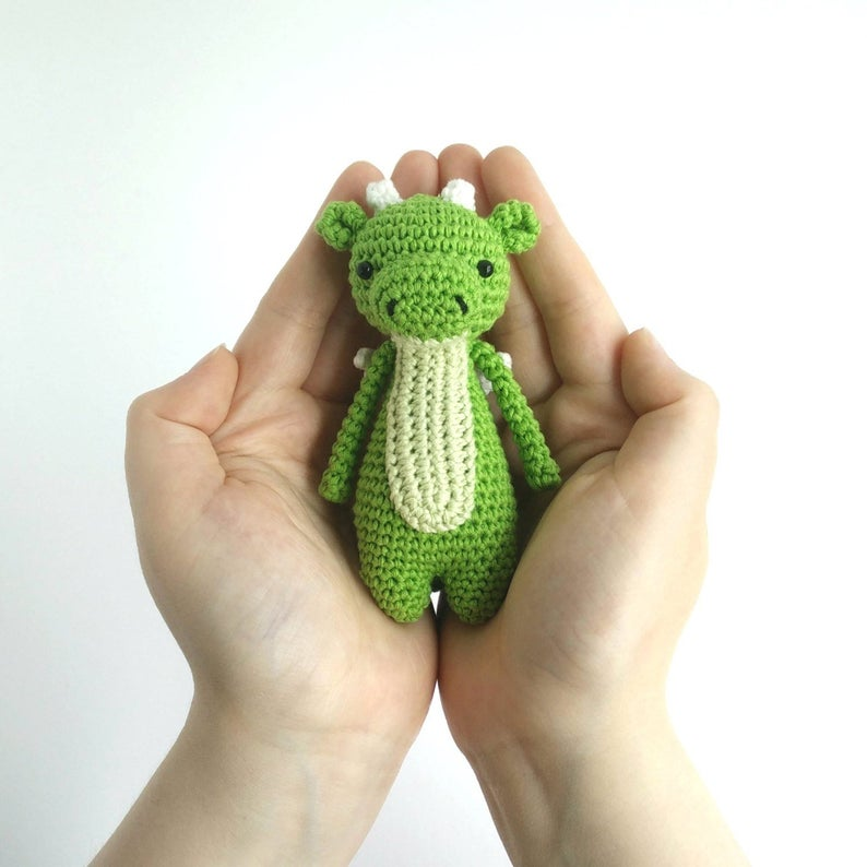 Mini Dragon amigurumi pattern