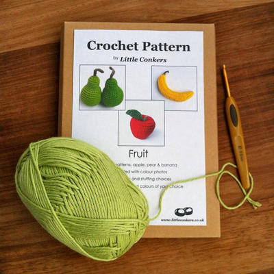 Crochet Gift Pattern / Printed Paper Pattern / Craft Gift / Christmas Gift / Eco-friendly