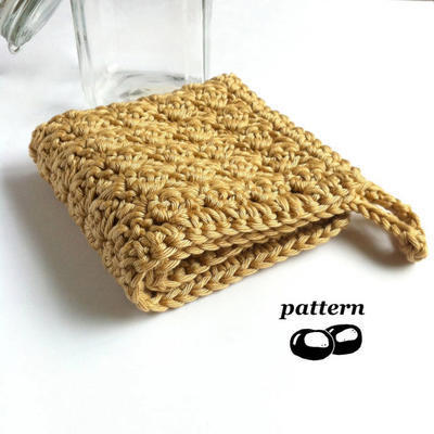 Crochet Washcloth Pattern