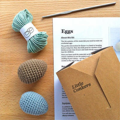 Egg Crochet Kit