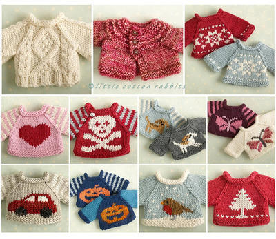 Amigurumi Sweater Selection