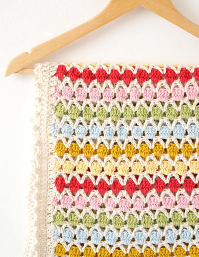 Baby Blanket Crochet Pattern Beatrice