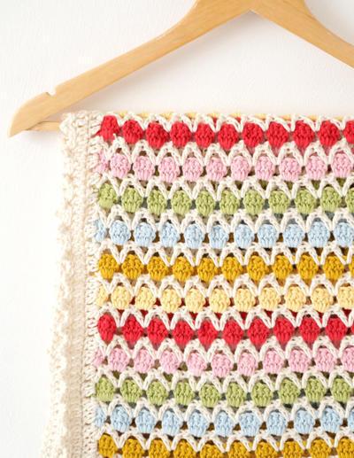 Baby Blanket Crochet Pattern Beatrice