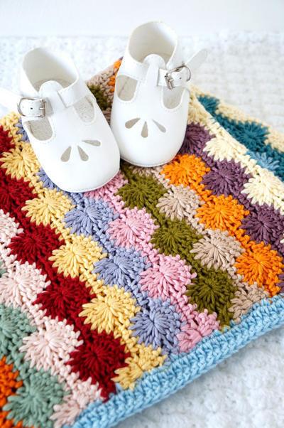 Crochet Pattern Baby Blanket Penny
