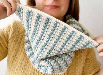 Edith Cowl Crochet Pattern