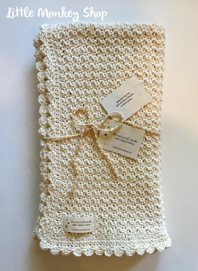 Crochet Baby Blanket - Pure and Simple Design