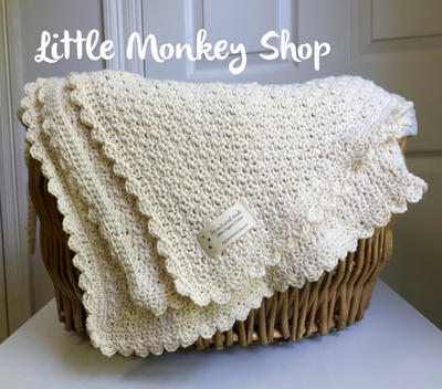 DIY Crochet Baby Blanket Kit