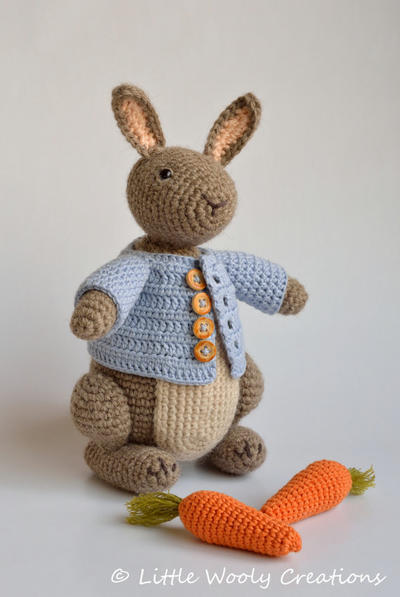 Crochet Pattern Timmy the Bunny