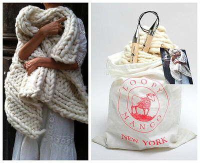 DIY Knit Kit - Nantucket Throw