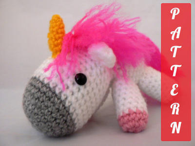 PDF pattern Charley the unicorn