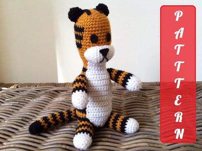 PDF pattern Harold the tiger