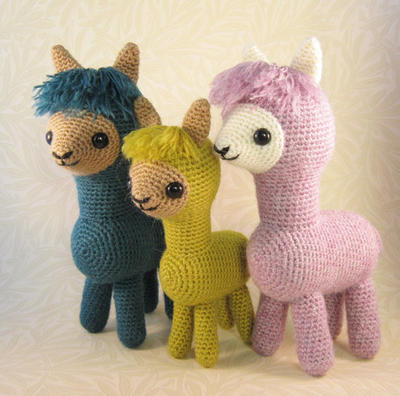 Alpaca Family PDF Pattern