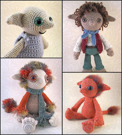 Elf Amigurumi Patterns