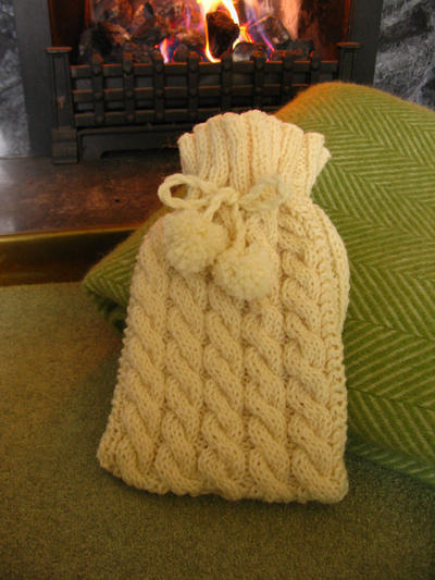Hot Water Bottle Knitting Kit
