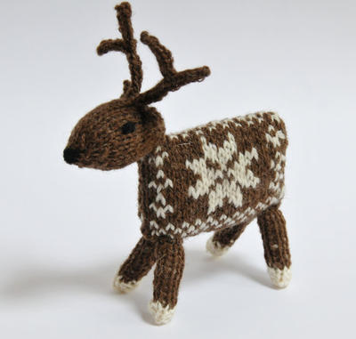 Knitting Kit - Knit your own Reindeer