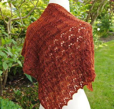 Vigneto Shawl Kit