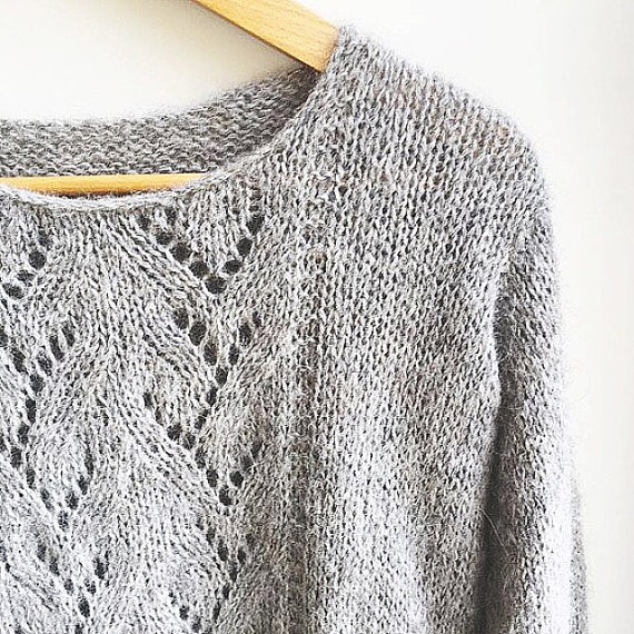 KNIT PATTERN in english and french - Sweet Sweater
