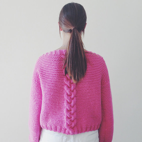 Valentines Day Knittins Sweater Pattern