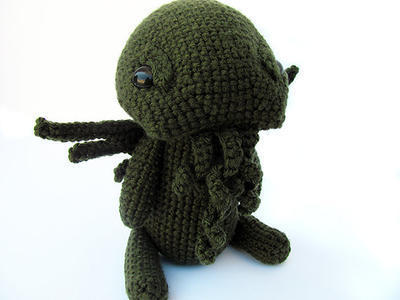 Amigurumi Monster Cthulhu Plush