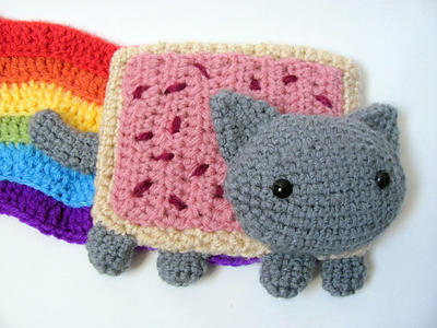 Amigurumi Pop Tart Cat