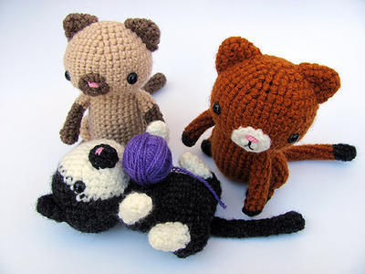 Cute Crochet Amigurumi Pattern