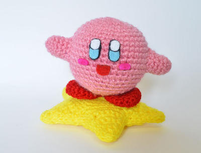 Kirby on a Star