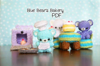 Blue Bear's Bakery Amigurumi Bear Pattern
