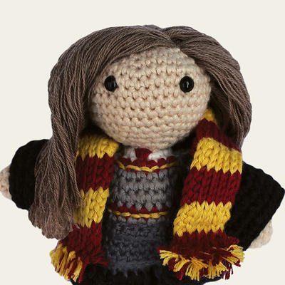 Hermione - Harry Potter. Amigurumi Pattern PDF