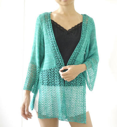 Minimi's Shawl or Cardigan pattern PDF