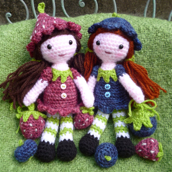 Strawberry Sally and Blueberry Blyth
