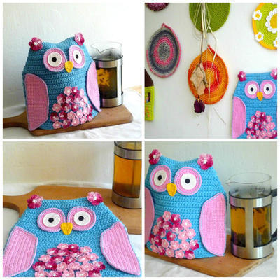 Owl Tea Pot Cozy Pattern