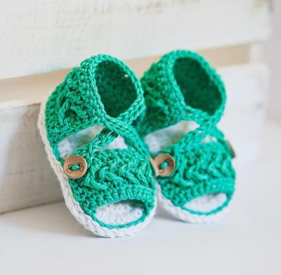 Chevron Sandals