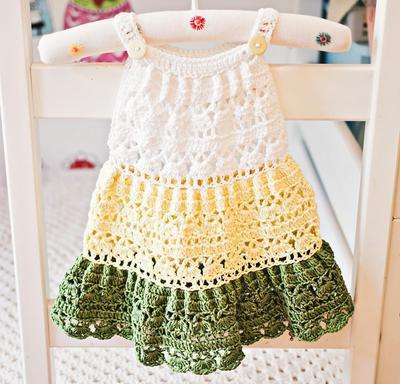 Crochet Tiered Dress