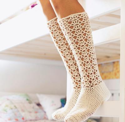 Ladies Lace Socks