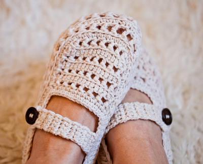 Ladies Milky Slippers