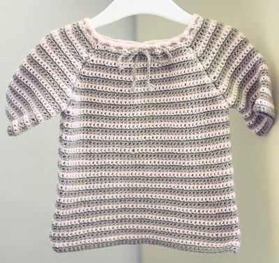 Raglan Baby Sweater