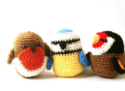 Crochet Patterns Amigurumi - Birds