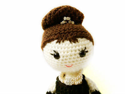 Holly Golightly - Amigurumi