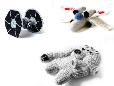 Star Wars Ships Crochet Amigurumi Patterns