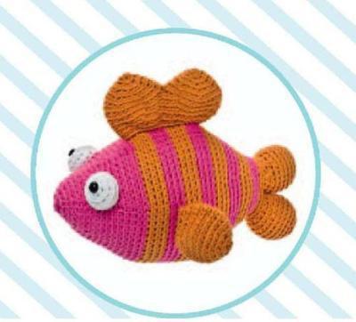Big Fish crochet pattern