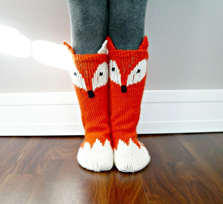 The Little Foxy Socks